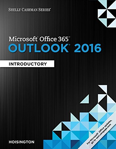 9781305871137: Shelly Cashman Series Microsoft Office 365 & Outlook 2016: Introductory