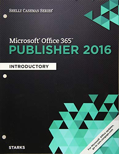9781305871199: Shelly Cashman Series Microsoft Office 365 & Publisher 2016: Introductory, Loose-leaf Version