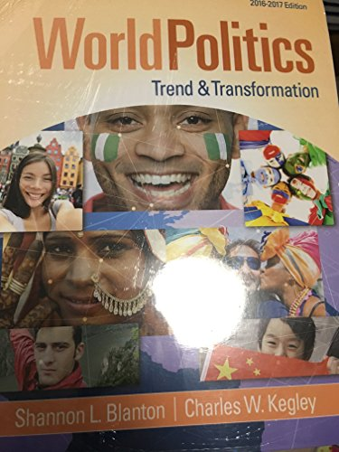 9781305875463: World Politics: Trend and Transformation, Loose-Leaf Version