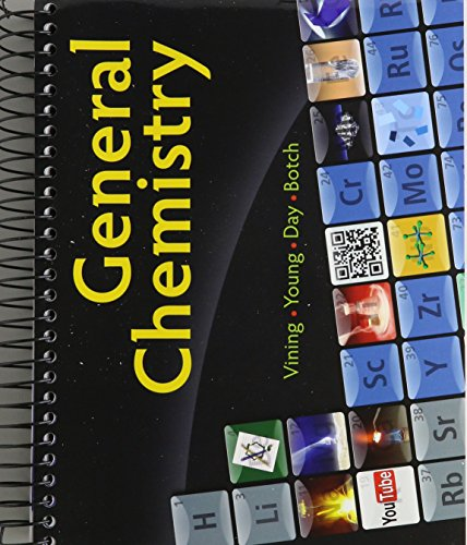General Chemistry (with LMS Integrated for MindTap: Vining, William; Botch,