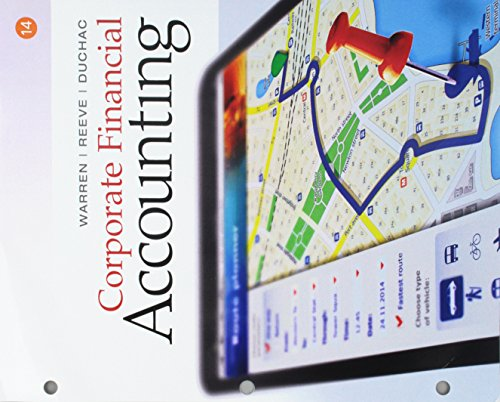 9781305878815: Corporate Financial Accounting, Loose-Leaf Version