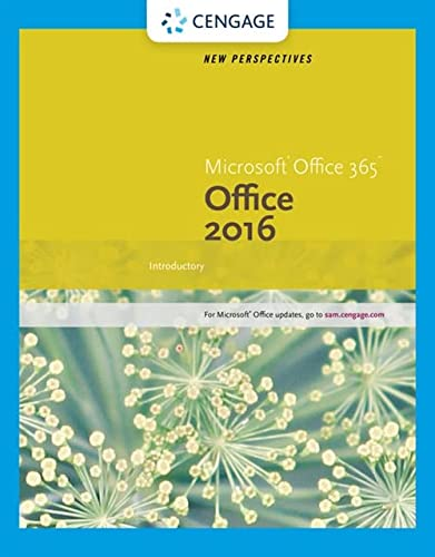 9781305879171: New Perspectives Microsoft Office 365 & Office 2016: Introductory, Spiral bound Version