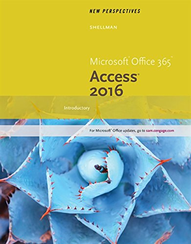 9781305880283: New Perspectives Microsoft Office 365 & Access 2016: Introductory