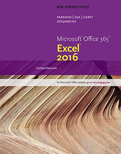 9781305880405: New Perspectives Microsoft Office 365 & Excel 2016: Comprehensive