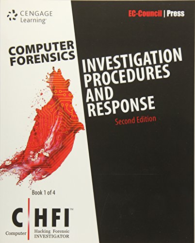 9781305883475: Computer Forensics: Investigation Procedures and Response (CHFI)
