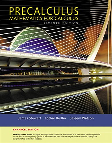 9781305884397: Precalculus, Enhanced Edition (with MindTap Math, 1 term (6 months) Printed Access Card)