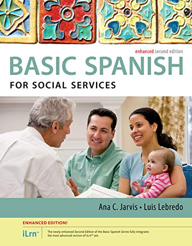 9781305885981: Spanish for Social Services Enhanced Edition: The Basic Spanish Series (with iLrn™ Heinle Learning Center, 4 terms (24 months) Printed Access Card)