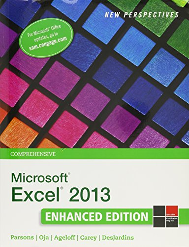 9781305925649: Bundle: New Perspectives on Microsoft Excel 2013, Comprehensive Enhanced Edition + LMS Integrated for SAM 2013 Assessment, Training and Projects with ... Reader, 1 term (6 months) Printed Access Card