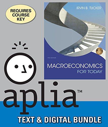 9781305926479: Bundle: Macroeconomics For Today, Loose-leaf Version, 9th + Aplia, 1 term Printed Access Card