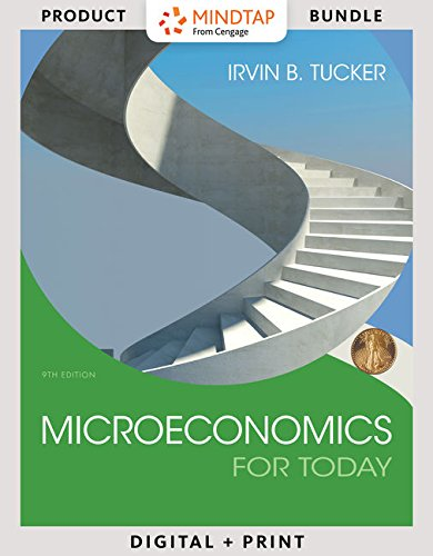 9781305927230: Bundle: Microeconomics for Today, 9th + LMS Integrated for MindTap Economics, 1 term (6 months) Printed Access Card