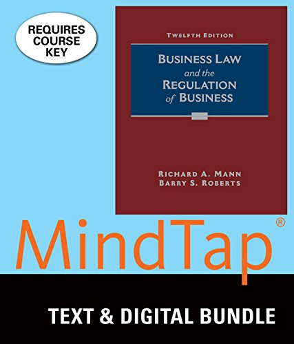 9781305927810: Bundle: Business Law and the Regulation of Business, Loose-Leaf Version, 12th + MindTap Business Law, 1 term (6 months) Printed Access Card