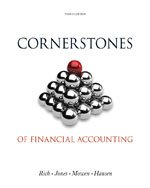 9781305929180: Bundle: Cornerstones of Financial Accounting (With 2011 Annual Reports: Under Armour, Inc. & Vf Corporation), Loose-leaf Version, 3rd