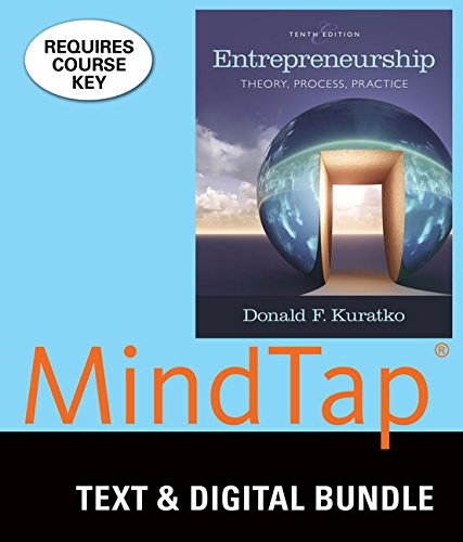 9781305936607: Bundle: Entrepreneurship: Theory, Process, and Practice, Loose-Leaf Version, 10th + MindTap Management with Live Plan, 1 term (6 months) Printed Access Card