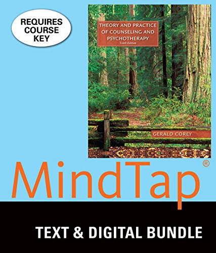 9781305937345: Bundle: Theory and Practice of Counseling and Psychotherapy, Loose-Leaf Version, 10th + LMS Integrated for MindTap Counseling, 1 term (6 months) Printed Access Card