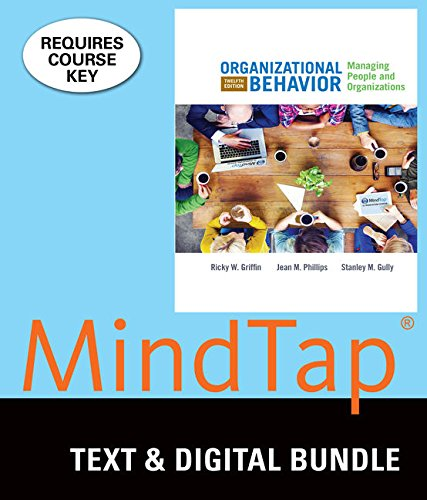 9781305938458: Bundle: Organizational Behavior: Managing People and Organizations, Loose-Leaf Version, 12th + LMS Integrated for MindTap Management, 1 term (6 months) Printed Access Card