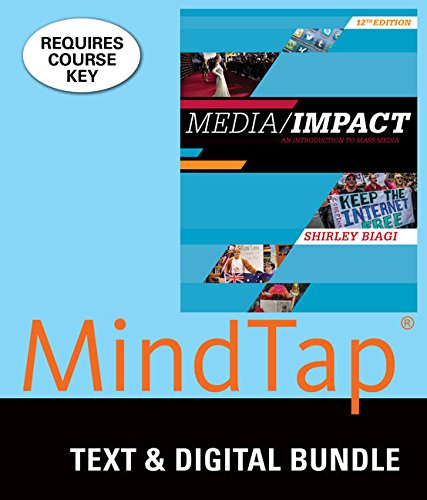 9781305940949: Bundle: Media/Impact: An Introduction to Mass Media, Loose-leaf Version, 12th + MindTap Communication, 1 term (6 months) Printed Access Card
