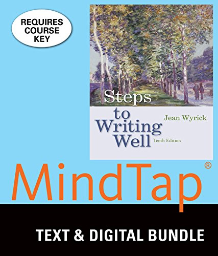 Bundle: Steps to Writing Well, Loose-leaf Version, 13th + LMS Integrated MindTap English, 1 term (6...