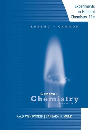 9781305944985: Lab Manual Experiments in General Chemistry