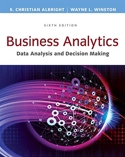 9781305947542: Business Analytics: Data Analysis & Decision Making - Standalone book (MindTap Course List)