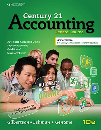 9781305947771: Century 21 Accounting: General Journal, Copyright Update