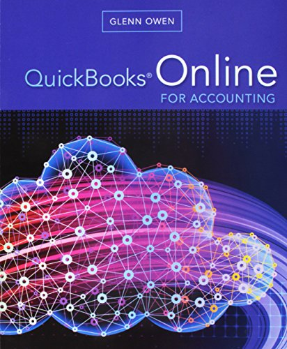 QuickBooks Online for Accounting (Book Only): Owen, Glenn