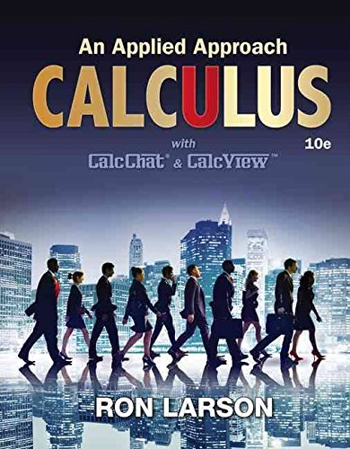 9781305953253: Calculus: An Applied Approach, Loose-Leaf Version