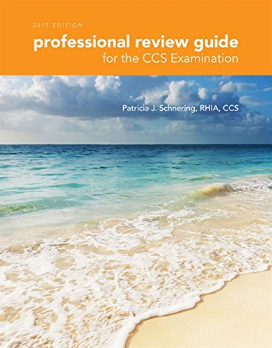 9781305956537: Professional Review Guide for the CCS Examination, 2017 Edition (Professional Review Guide for the CCS Examinations)