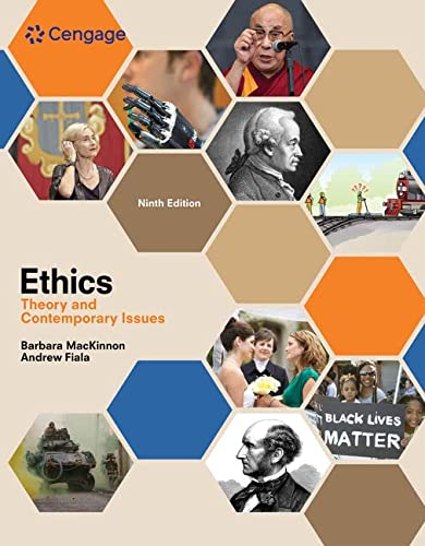 9781305958678: Ethics: Theory and Contemporary Issues