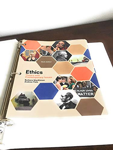 Ethics: Theory and Contemporary Issues, Loose-Leaf Version: MacKinnon, Barbara, Fiala,