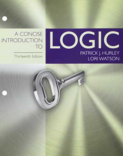 9781305959767: A Concise Introduction to Logic, Loose-Leaf Version