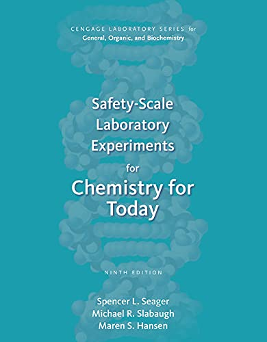 9781305968554: Safety-Scale Laboratory Experiments for Chemistry for Today (Cengage Laboratory Series for General, Organic, and Biochemistry)
