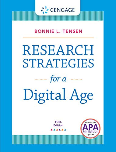 9781305969407: Research Strategies for a Digital Age