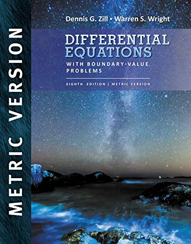 9781305970632: Differential Equations with Boundary Value Problems, International Metric Edition