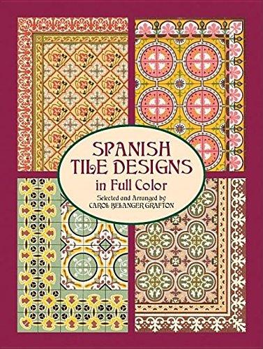 9781306327602: Spanish Tile Designs in Full Color