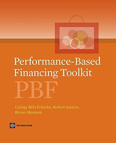 9781306513784: Performance-Based Financing Toolkit