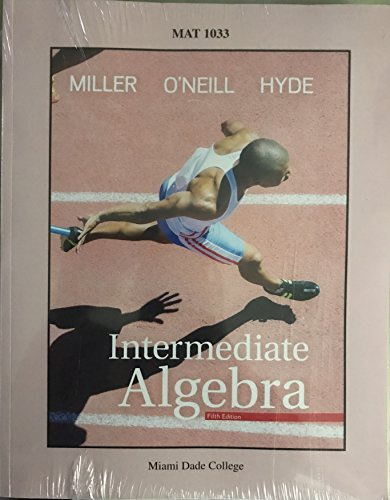 9781307037487: Intermediate Algebra