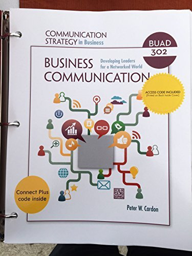 9781308006284: Business Communication (BUAD 302)