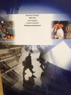9781308008752: Business Strategy (Custom Edition for Clemson University MGT 4150 Management Development)