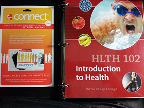 9781308021706: Health 102: Introduction to Health (Victor Valley College Edition)/access Code