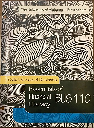 9781308039473: Essentials of Financial Literacy - UAB Business 110