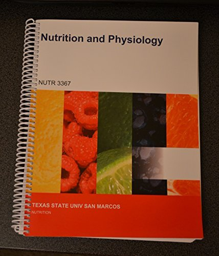 9781308055732: Nutrition and Physiology