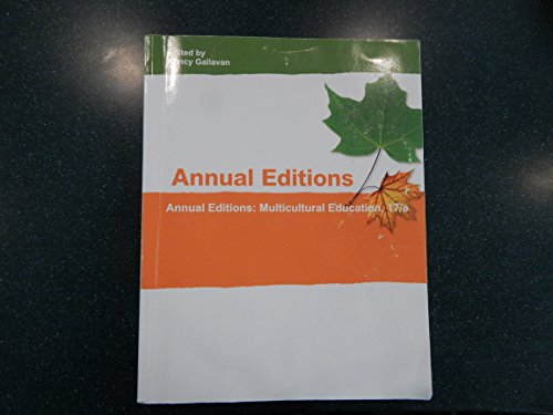 9781308058313: ANNUAL EDITION:MULTICULTURAL EDUCATION
