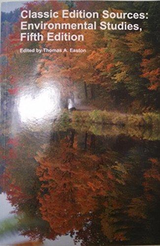 9781308081939: Classic Edition Sources: Environmental Studies