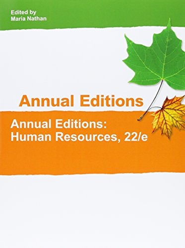 9781308083919: Human Resources (Annual Editions Human Resources)