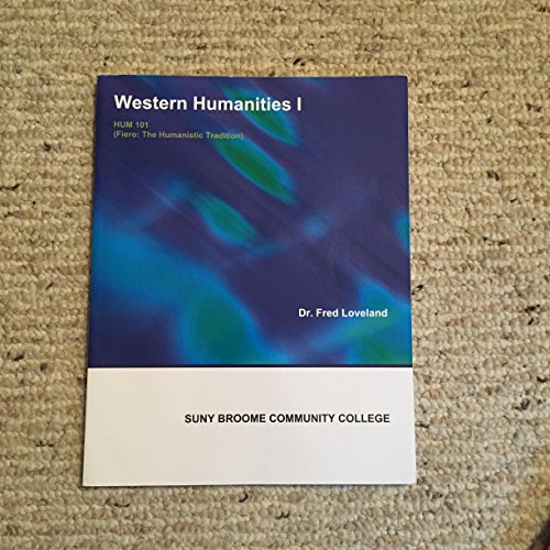 9781308088457: Western Humanities I (HUM 101 - Fiero: The Humanistic Tradition)