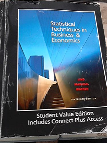 9781308095776: Statistical Techniques in Business & Economics