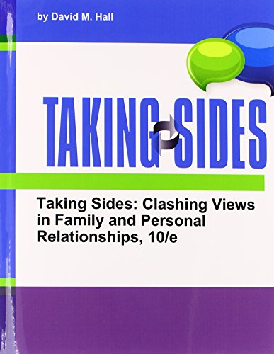 9781308098197: Taking Sides Clashing Views in Family and Personal Relationships