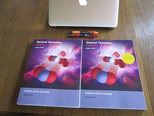 9781308116143: General Chemistry: Contra Costa College Chem 120/121, Volumes I and II