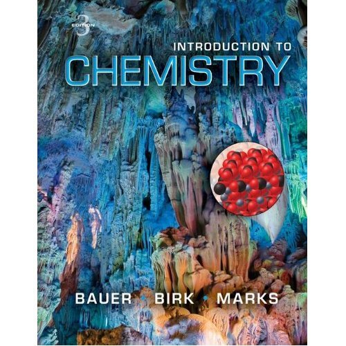 9781308124056: Introduction to Chemistry (Selected Chapters From Bauer's 3rd Edition)