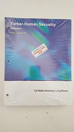 9781308128887: Human Sexuality Volume 1 California State Long Beach